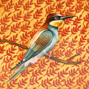 Db-patterend-bee-eater-original-painting