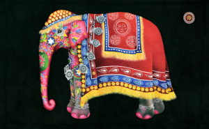 Db-red-elephant-original-painting